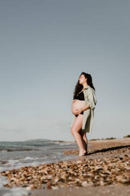Séance photo grossesse à Palavas-Les-Flots Hérault